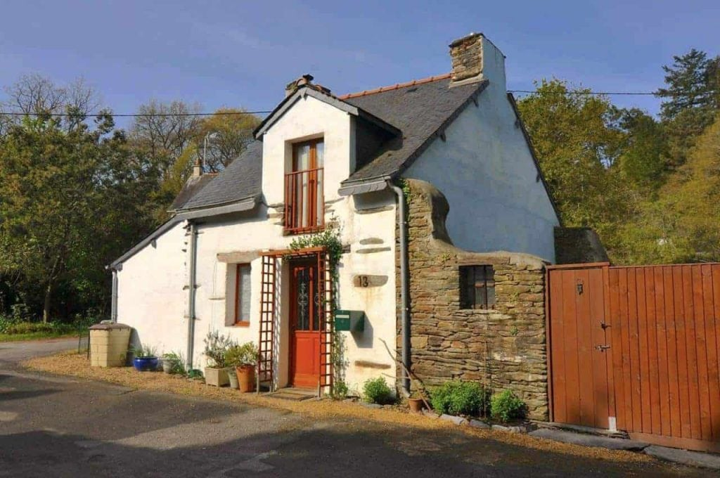 French Villa Holiday Home Website Design